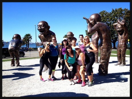 Fit Chick Frolic Seawall Edition