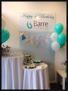 Barre Fitness Yaletown's 4th Birthday