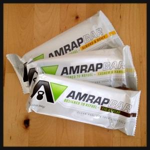 AMRAP Nutrition Bars