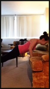 Incline Push-up with Couch
