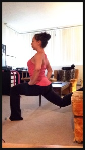 Split Squats with Couch