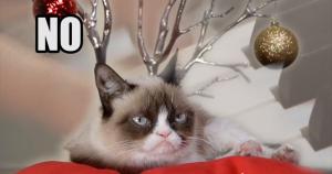 Grumpy Cat Christmas No